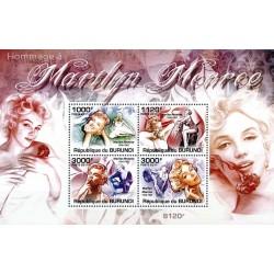 سونیرشیت یادبود مرلین مونرو - هنرپیشه سینما - بروندی 2011  قیمت 11.3 دلار