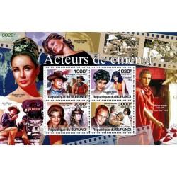 سونیرشیت یادبود هنرپیشه های سینما - بروندی 2011  قیمت 11 دلار