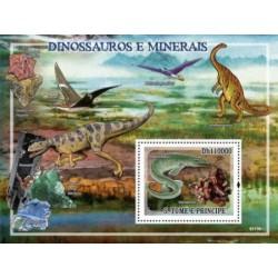 سونیرشیت دایناسورها و سنگهای معدنی - سائوتام و پرینسیپ 2009 قیمت 11 دلار