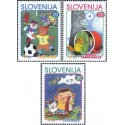 3 عدد تمبر قهرمانان کتابهای کودکان  - اسلوونی 2000 قیمت 3.6 یورو