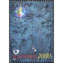 1 عدد تمبر جشن سال 2000 - اسلوونی 2000 قیمت 16.7 دلار