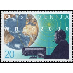 1 عدد تمبر رادیو آماتور - اسلوونی 2000