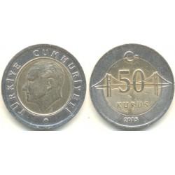 سکه 50 کروز - بیمتال - ترکیه 2015 غیر بانکی