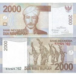 اسکناس 2000 روپیه - اندونزی 2013