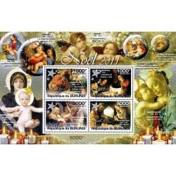 سونیرشیت کریستمس - تابلو نقاشی - بروندی 2011 قیمت 12 دلار
