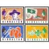 4 عدد تمبر 60مین سالگرد انجمن پیشاهنگی جبل الطارق - جبل الطارق 1968
