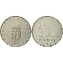 سکه 10 فورینت - مس نیکل -  مجارستان 2004 غیر بانکی
