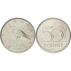 سکه 50 فورینت - مس نیکل -  مجارستان 2013 غیر بانکی