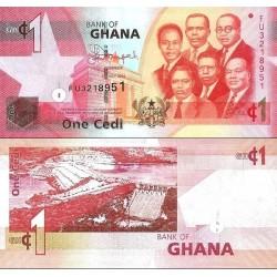 اسکناس 1 سدی - غنا 2014