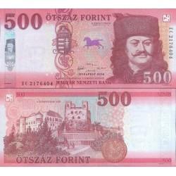 اسکناس 500 فورینت - مجارستان 2018