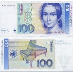 اسکناس 100 مارک - جمهوری فدرال آلمان 1991 سفارشی