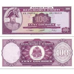 اسکناس 100 گورد - هائیتی 1991 سفارشی