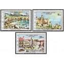 3 عدد تمبر توریست - قبرس ترکیه 1976
