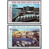 2 عدد تمبر مشترک اروپا - Europa Cept - مناظر - قبرس ترکیه 1977