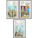 3 عدد تمبر اسلام - مساجد - قبرس ترکیه 1980