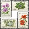 4 عدد تمبر گلها - قبرس ترکیه 1981