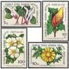 4 عدد تمبر گلها - قبرس ترکیه 1982 قیمت 6.3 دلار