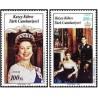 2 عدد تمبر ازدواج سلطنتی - قبرس ترکیه 1986