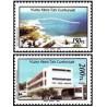 2 عدد تمبر پروژه های توسعه - قبرس ترکیه 1987