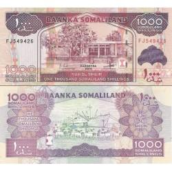 اسکناس 1000 شلینگ - سومالی لند 2014