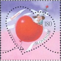 1 عدد تمبر عشق - اسلوونی 2003 ارزش روی تمبر 0.9 دلار