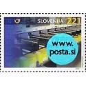 1 عدد تمبر مرکز تدارکات پستی مایبور - با لیبل هولوگرام - اسلوونی 2003 ارزش روی تمبر 1.3 دلار
