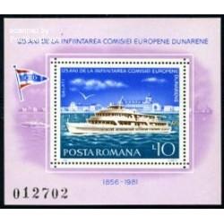 سونیرشیت کسیون اروپائی کشتیرانی دانوب - رومانی 1981