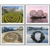 4 عدد تمبر هنر زمین - خودچسب - سوئیس 2019  ارزش روی تمبرها 5.35 فرانک