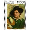 1 عدد تمبر تابلو نقاشی  - 125مین سالگرد تولد مارک چاگال  - بلاروس 2012 قیمت 7.3 دلار
