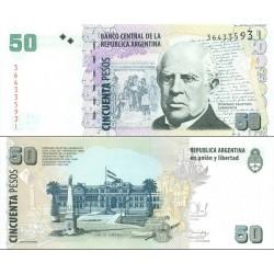 اسکناس 50 پزو - آرژانتین 2003