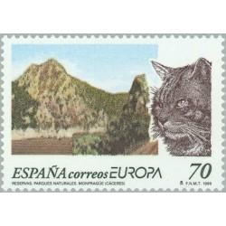 1 عدد تمبر مشترک اروپا Europa Cept - حفاظت از طبیعت و پارکهای ملی- اسپانیا 1999