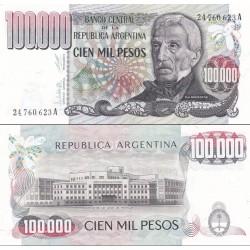 اسکناس 100000 پزو - آرژانتین 1979