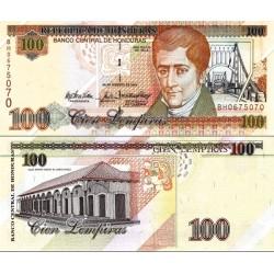 اسکناس 100 لمپیراس - هندوراس 2004 سفارشی