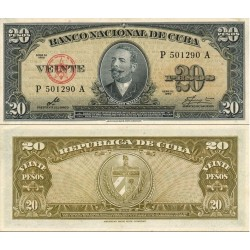سکناس 10 پزو - کوبا 1960 سفارشی
