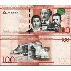 اسکناس 100 پزو - جمهوری دومنیکن 2014