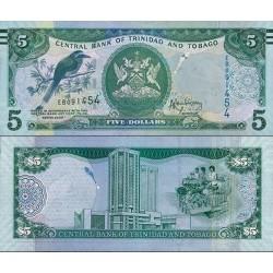 اسکناس 5 دلار - ترینیداد توباگو 2006