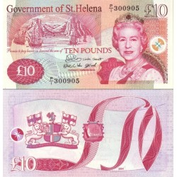 اسکناس 10 پوند - سنت هلن 2004 سفارشی
