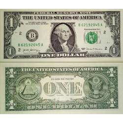 سکناس 1 دلار - آمریکا 2007 سری B بوستون - مهر سبز