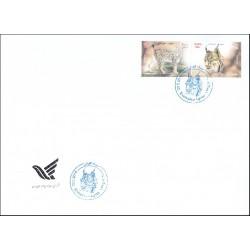 3427 - پاکت مهر روز تمبر سیاه گوش 1395