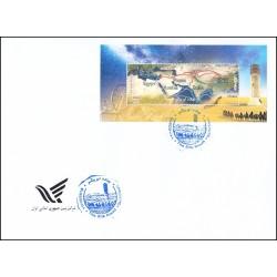 3477 - پاکت مهر روز تمبر جاده ابریشم 1397