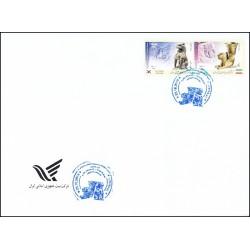 3478 - پاکت مهر روز تمبر مشترک ایران و کره جنوبی 1397