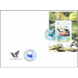 3502 - پاکت مهر روز تمبر اردک سر سفید 1398