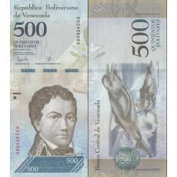 اسکناس 500 بولیوار - ونزوئلا 2017