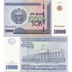 اسکناس 10000 سام - ازبکستان 2017
