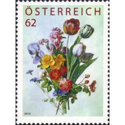 1 عدد تمبر گل - نقاشی توسط آنتوان برژون ، 1754-1843. تمبر پاداش وفاداری - اتریش 2012 قیمت 4.7 دلار