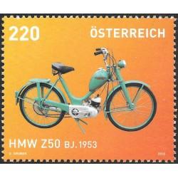 1 عدد تمبر موتور سیکلتها - اتریش 2013 ارزش روی تمبر 2.2 یورو