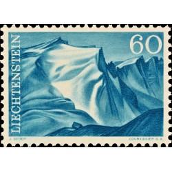 1 عدد  تمبر سری پستی مناظر - 60 - لیختنشتاین 1959