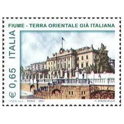1 عدد  تمبر  .رودخانه شهر - ایتالیا 2007