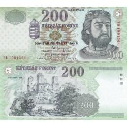 اسکناس 200 فورینت - مجارستان 2005