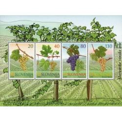 مینی شیت گیاهان - انگورها - اسلوونی 2000